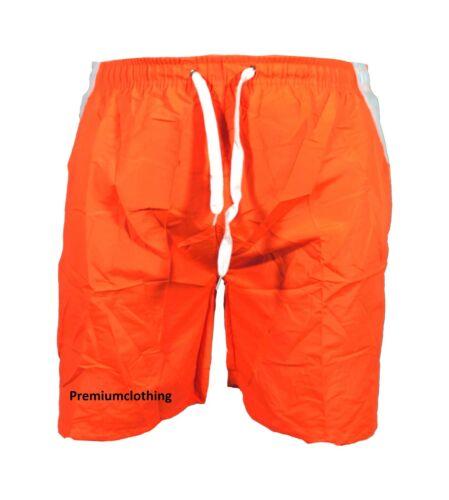 Pantaloncini da Uomo a Strisce Nuoto Spiaggia più tasche Mesh BAULI Vacanza Bottoms Pantaloni