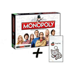 Monopoly-The-Big-Bang-Theory-TBBT-Brettspiel-Deutsch-Schluesselanhaenger-034-Kitty-034