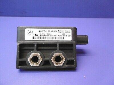 Mercedes-Benz Clase M ML270 W163 Sensor de guiñada velocidad A1635420618 10098001181