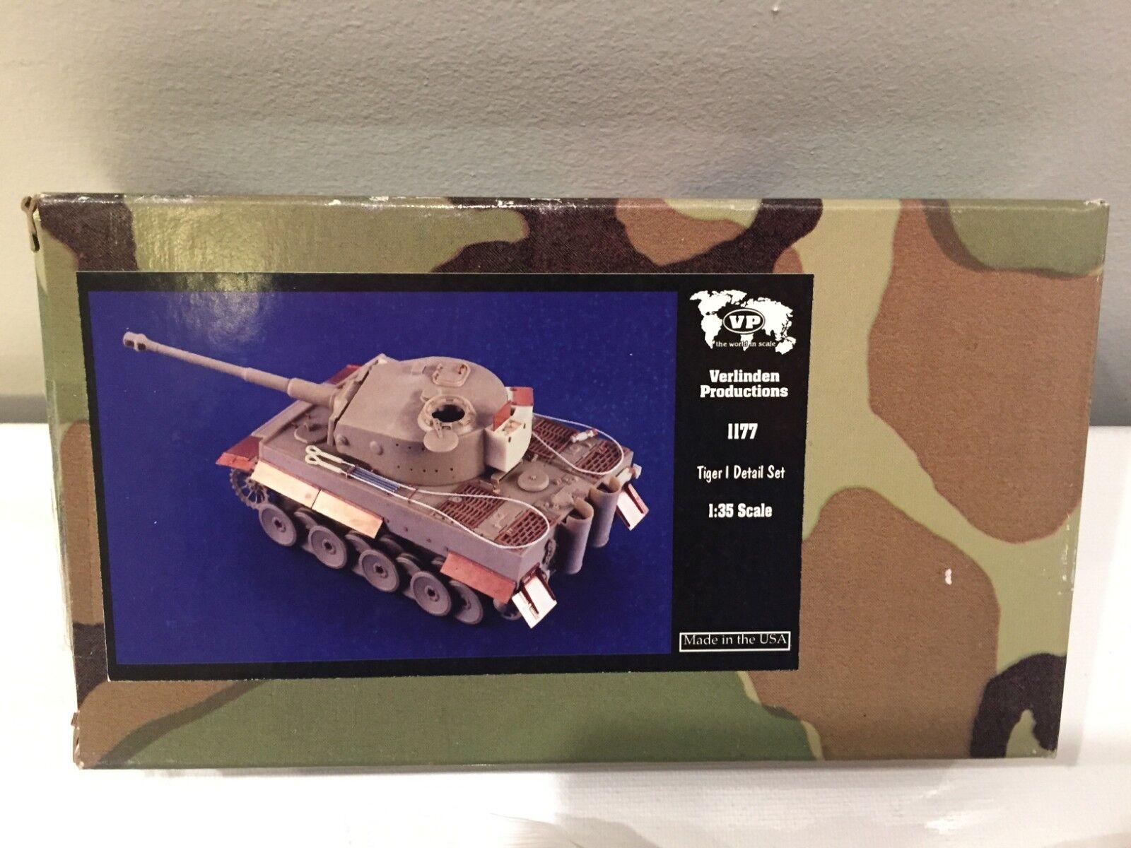 Model Tank Tiger I Detail Set 1 35 Verlinden Productions 1177 New