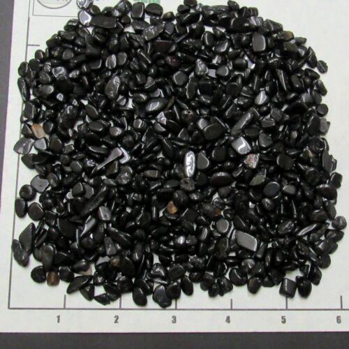 TOURMALINE BLACK Chips 5-10mm 1//2 lb bulk stones semi-tumbled