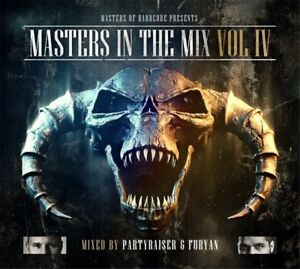 Partyraiser-amp-Furyan-Masters-of-Hardcore-Masters-in-the-Mix-Vol-4-2-CD-NUOVO