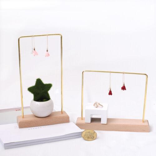 2pcs Jewelry Display Hanging Earring Necklace Hanger Stud Holder Rack Hooks