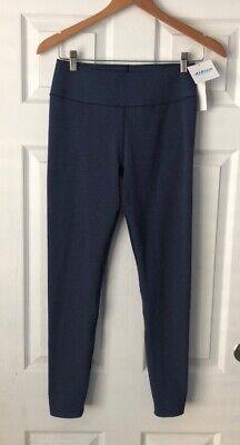 Uniqlo Airism Soft Leggings Workout Fitness Pants Size M Heathered Blue Nwt Ebay