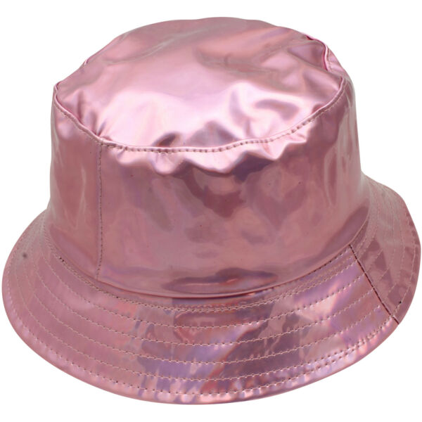 b5ebd255d03 METALLIC BUCKET HAT GOLD SILVER SUN HAT FESTIVAL PARTY RAVE CLUB BEACH  SHINY HAT. Hover to zoom