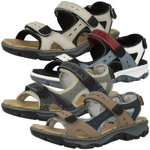 Rieker Scuba Women Schuhe Antistress Sandalen Damen Trail Sandaletten 68872