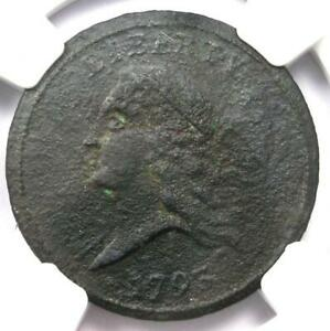 1793-Liberty-Cap-Flowing-Hair-Half-Cent-1-2C-NGC-XF-Detail-EF-Rare-Coin