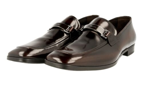 42 5 Marron Chaussures 43 Nouveaux Prada 8 2dc100 Luxueux 5 qSOwSA0