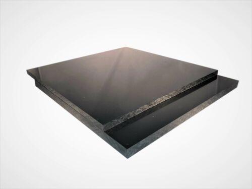 2-15mm PE300 Platte Scheibe Polyethylen Schwarz kostenloser Zuschnitt