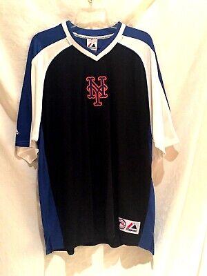 Sport Fanartikel New York Mets Jersey-mlb Majestic Rückschlag V-neck-original Tags-sm-classic