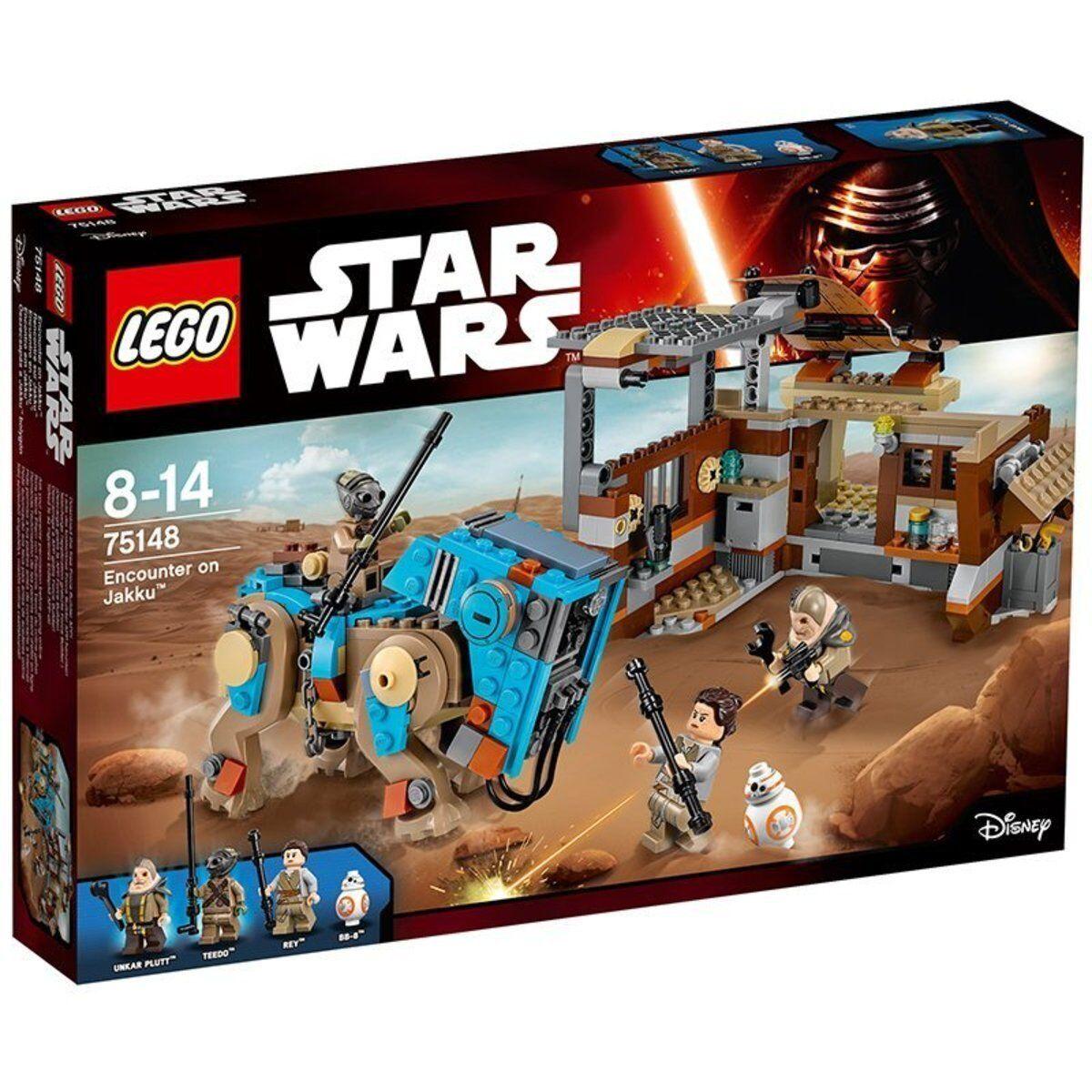 Lego Star Wars 75148 Encounter On Jakku Incontro su 100% Neuf Scatola Sigillato