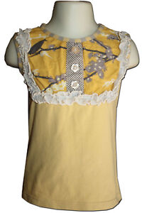 Lovely-PERSNICKETY-Size-4-Fits-as-3-Heirloom-Collection-Gold-Lou-Lou-Top
