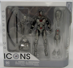 DC Icons Series Cyborg Justice League Forever Evil Action Figure #20