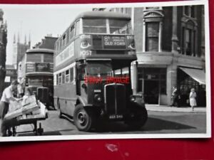PHOTO-LONDON-TRANSPORT-BUS-NO-STL208-ON-ROUTE-8A-JUNE-1949