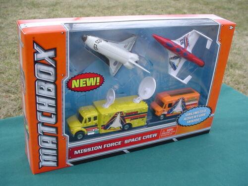 Mission Force MOBILE COMMAND CENTER The SHUTTLE ENDEAVOUR SEALED SET Matchbox