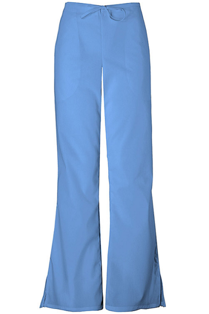 6c05631a0ed Buy Cherokee Workwear Women's 4101 Flare Leg Drawstring Scrub Pant ...