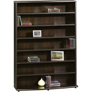 Image Is Loading Multimedia Storage Cabinet Shelf Organizer CD DVD Rack