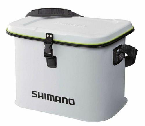 M wasserdichte Boots Tasche Shimano EVA Light Tackle Bag White Gr