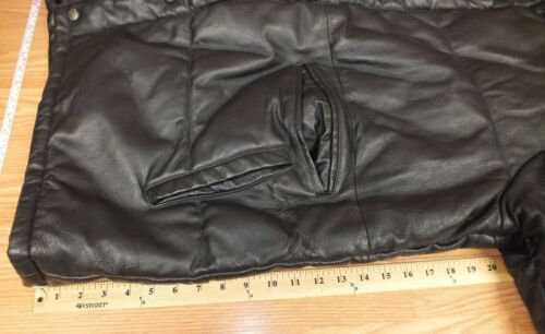 Hoodie Size Faux Removable W Genuine Leather read Xl Excelled Coat Fur Heavy qAOw8B
