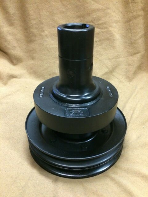 1955,1956,1957 Thunderbird orig. engine crankshaft harmonic balancer w/pulleys