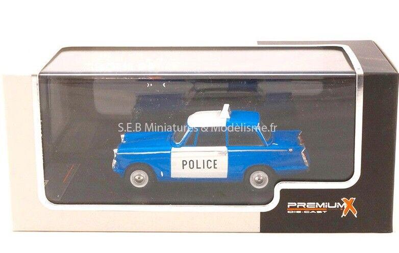 TRIUMPH HERALD SALOON UK POLICE BRITANIQUE 1962 1 43 IXO PREMIUM