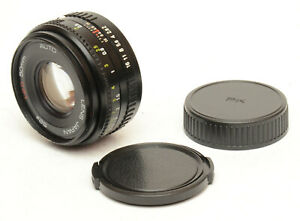 Auto-Sears-50mm-F2-Lens-For-Pentax-K-Mount-Good-Condition