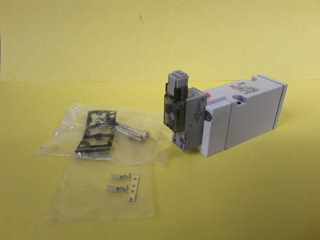 SMC Air Pneumatic Miniature Solenoid Directional Valve SYJ714-5MNZ-Q 24VDC  *