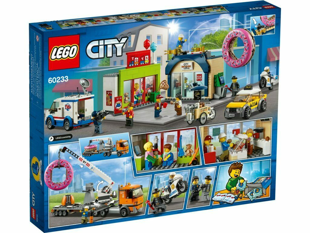 LEGO 60233 Inaugurazione della ciambelleria CITY 6+ Pz 790   magasin de gros