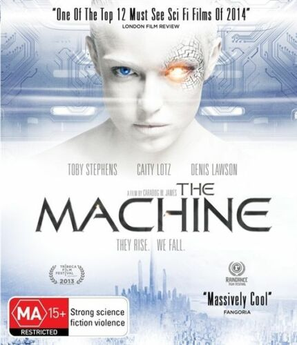 1 of 1 - The Machine (DVD + Blu-ray, 2014) // 2 Discs