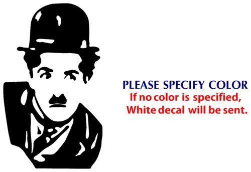 "Charlie Chaplin Game Movie TV Funny JDM Vinyl Sticker Decal Car Window Wall 7/"""