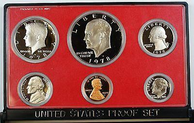 With Flap 1978 US Mint Clad Proof Set No Box