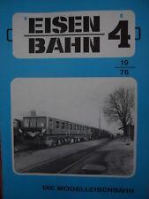 Eisenbahn Die Modelleisenbahn n°4 1976 -- Tr.22
