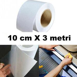 Rotolo-pellicola-protettiva-trasparente-10cmX3m-porte-sportelli-auto-urti-graffi