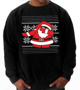 image is loading dabbing santa ugly xmas sweater sweatshirt 5x street