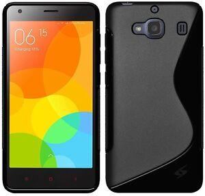 Amzer-High-Gloss-TPU-Hybrid-Case-Back-Cover-Exclusive-for-Xiaomi-Redmi-2-Black