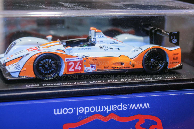 PESCARLO Oak 01JUDD N 65533;rough6553333; 24 OAK GULF racing 24H du MANS 2011 1 43 gnista