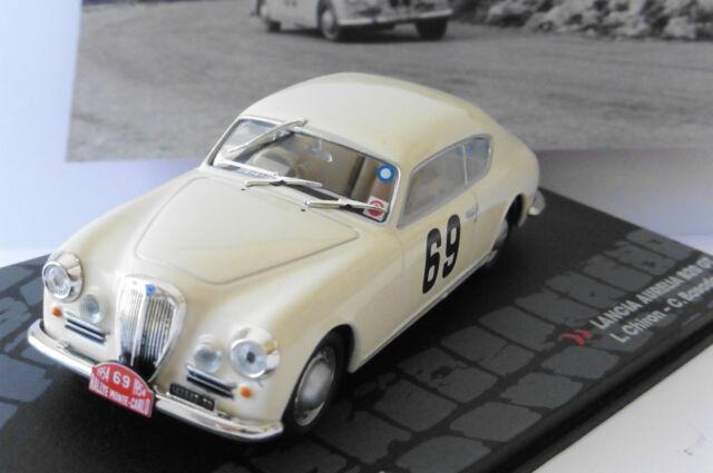 LANCIA AURELIA B20 GT #69 CHIRON BASADONNA MONTE CARLO 1954 IXO ALTAYA 1/43