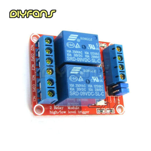 Details about  /2//4//8Channel Modul With Optokoppler Isolation H//L Level Trigger Relay 5-24V B2SA
