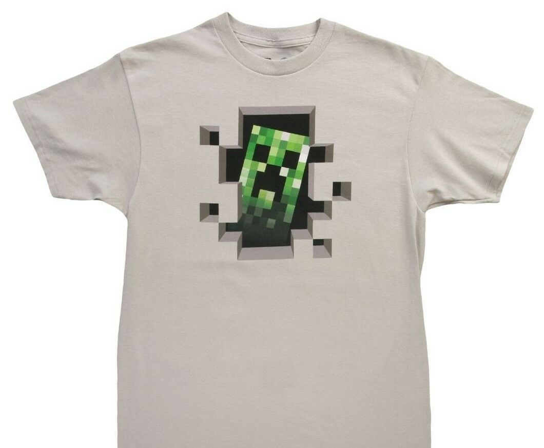 Minecraft Party Favor Lot 36 Pieces - 12 TSHIRTS 12 Bracelets 12 Gift Bags