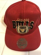 f6df48a951b Chicago Bulls Rings Snapback Hat Mitchell Ness One Size Nba Basketball Msrp   35