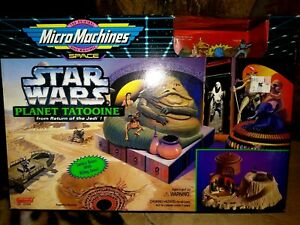 GALOOB-MICRO-MACHINES-STAR-WARS-HOTH-ENDOR-DEATH-STAR-TATOOINE-DAGOBAH-ALL-MIB