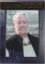 GAME OF THRONES SEASON 5 GOLD PARALLEL INSERT #77 HIGH SEPTON 101/150