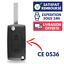 Coque-Cle-2-Boutons-Telecommande-pour-Plip-Peugeot-308-307-207-407-PARTNER miniature 1