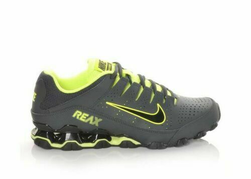 Nike Reax 8 TR Men's Training Shoes 616272 036 Anthracite Black Volt New In  Box!