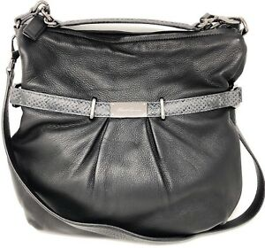 743f49c229 Kenneth Cole New York Chain of Command Bag 2-Tone Leather Women s ...