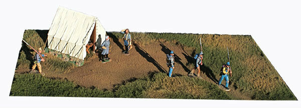1:32 Diorama Grass Clearing Mat for King Country First legion Figarti  1:30