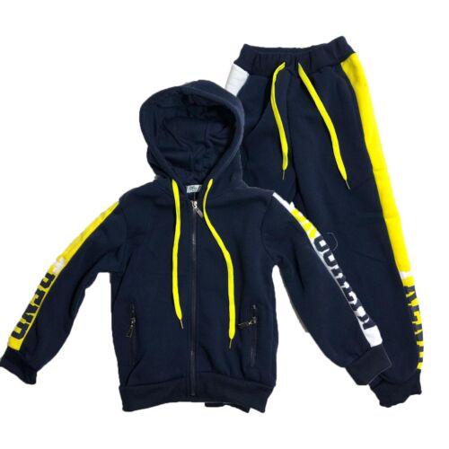 Boys Kids Tracksuit Hoodie Joggers Fleece Jogging Bottoms Fashion Brooklyn