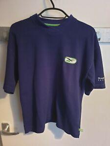 VINTAGE-Reebok-Freestyle-logo-bleu-tee-shirt