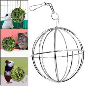 Rabbit-Guinea-Pig-Hamster-Chinchilla-Pet-Food-Ball-Plating-Grass-Hay-Rack-Ball