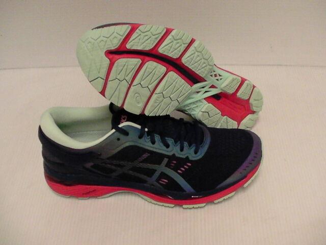 Asics women's gel kayano 24 lite show running shoes indigo blue size 9 us